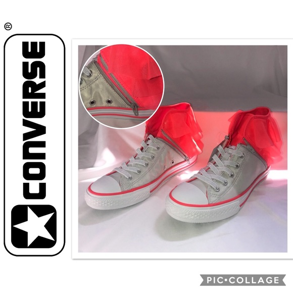 6b1396fde75 Converse Shoes | Juniors Ctas Block Party Hi Top Sneakers | Poshmark